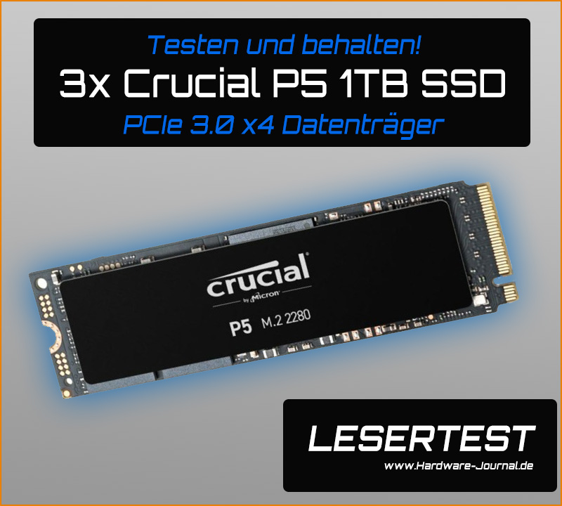 Crucial Lesertest P5 1TB