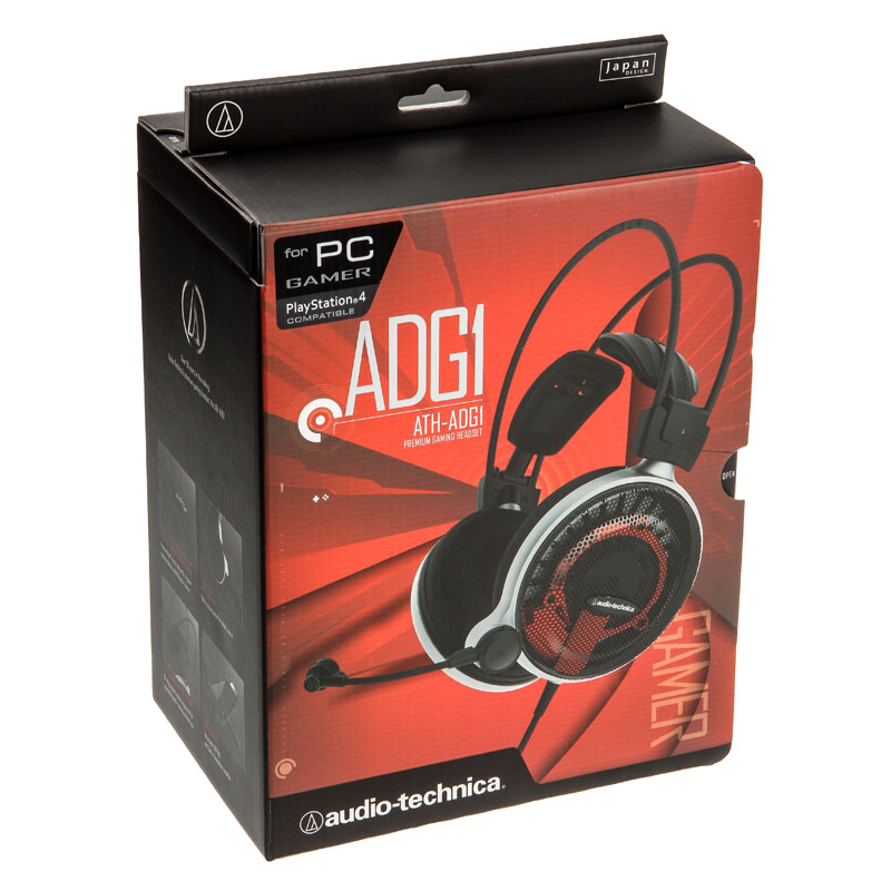 Audio-Technica ATH-ADG1 Gaming Headset 10