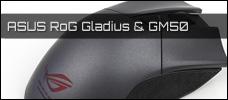 Test: ASUS ROG Gladius und GM50