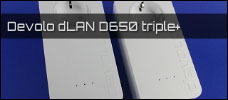 Test: Devolo dLAN D650 triple+
