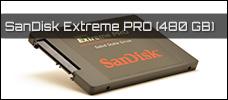 Test: SanDisk Extreme Pro SSD (480 GB)