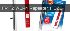 FRITZ LAN Repeater 1750E news