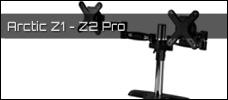 Test: Arctic Z1 und Z2 Pro Monitor Halterung