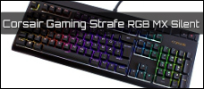 Test: Corsair Strafe RGB MX-Silent (RGB)