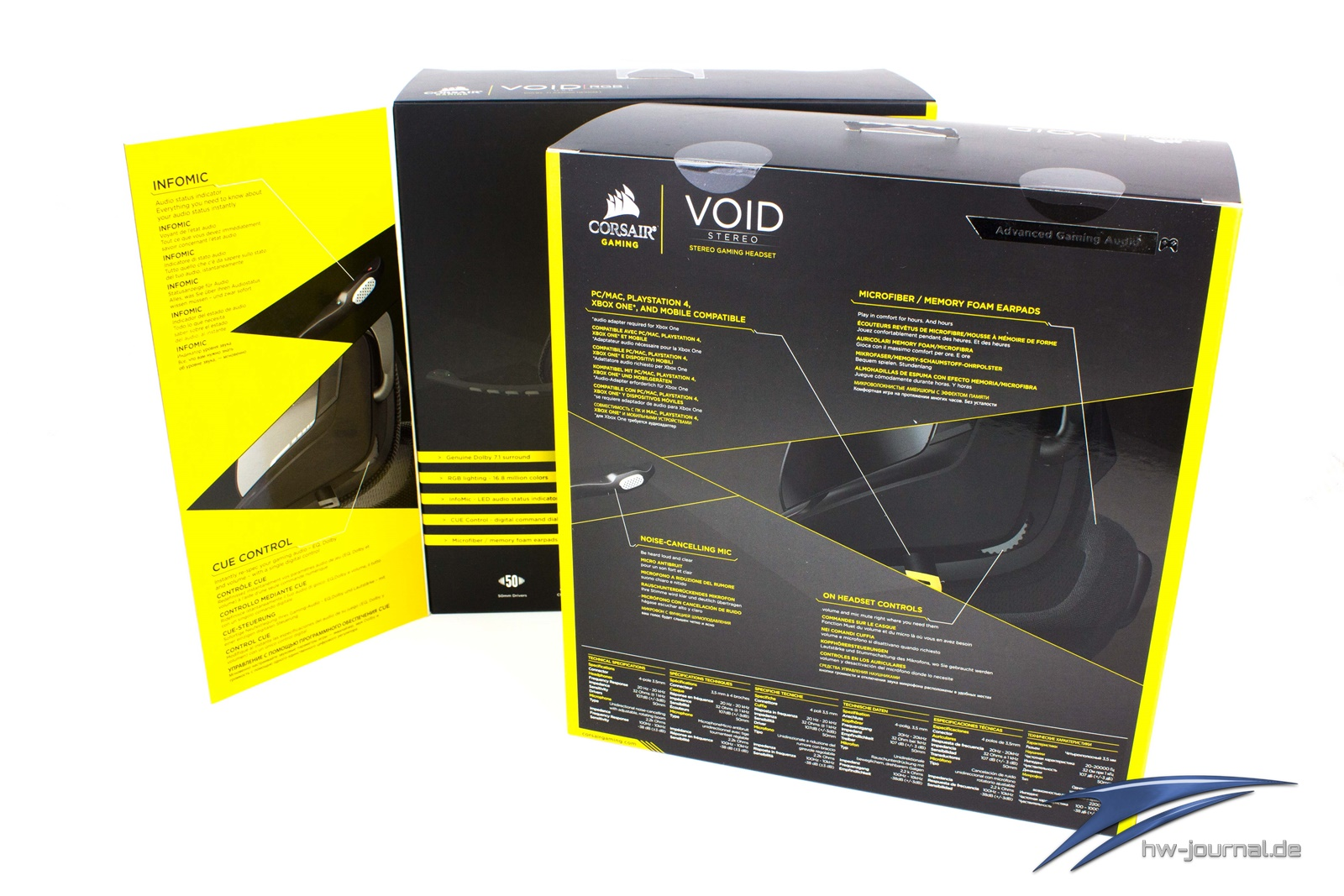 Test: Corsair Gaming Void Stereo und Void RGB - Hardware-Journal