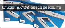 Test: Crucial BX100 (250GB, 500GB, 1TB)