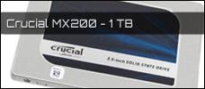 Test: Crucial MX200 1 TB