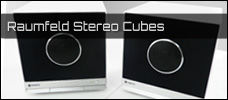 Raumfeld Stereo Cubes news
