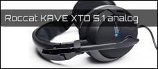 Test: Roccat KAVE XTD 5.1 analog