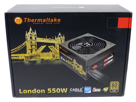 Thermaltake London 550W 1