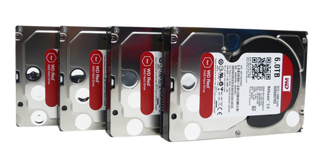 Western Digital Red opener