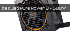 Test: be quiet! Pure Power 9 CM 500W