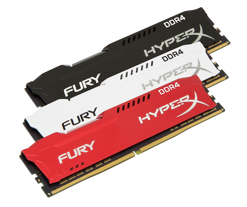 Kingston HyperX FURY DDR4 Family