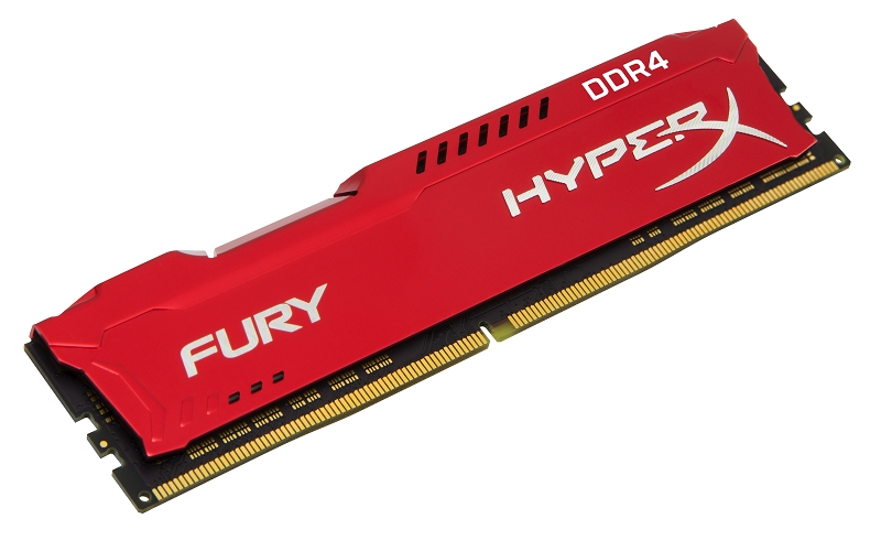Kingston HyperX FURY DDR4 Red