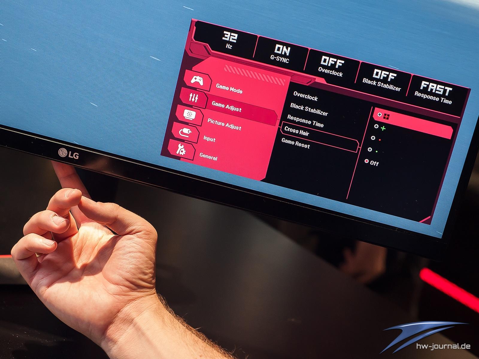 Der LG 32GK850F und LG 32GK850G im Hands on (Video
