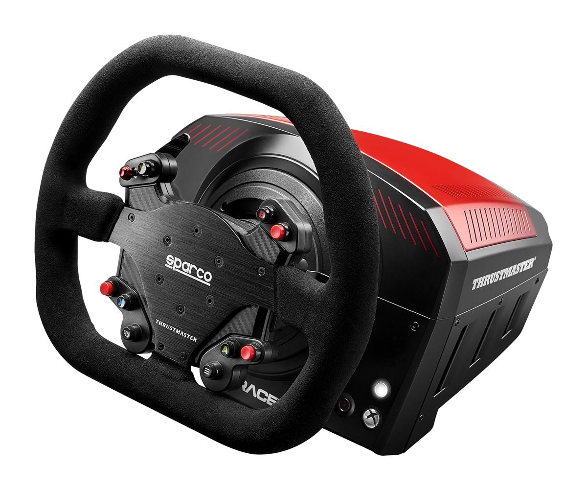 racing lenkrad von thrustmaster und sparco vorgestellt. Black Bedroom Furniture Sets. Home Design Ideas