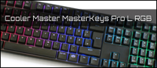 Test: Cooler Master MasterKeys Pro L RGB
