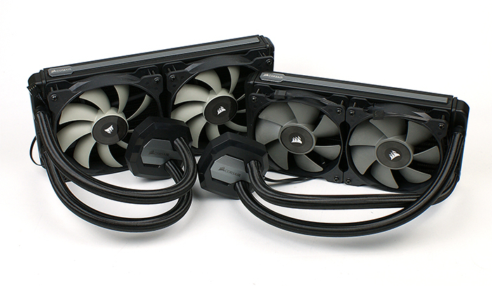 Test: Corsair H100i v2 und Corsair H115i - Hardware-Journal
