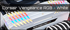 Corsair Vengeance RGB WHITE EDITION news