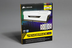 Corsair Vengeance RGB WHITE EDITION 1t