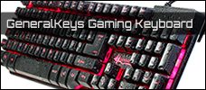 GeneralKeys Gaming Keyboard news