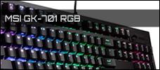 Test: MSI GK-701 RGB