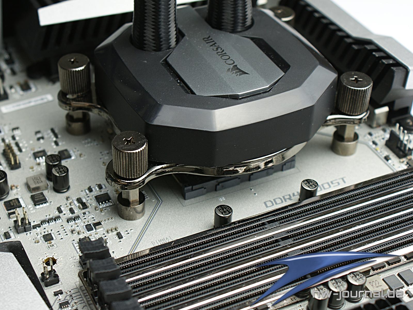 MSI X370 XPower Kuehlereinbau 6 MSI X370 XPower Kuehlereinbau 7 ·