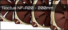 Noctua NF A20 200mm PWM news