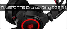 Test: Tt eSPORTS Cronos Riing RGB 7.1