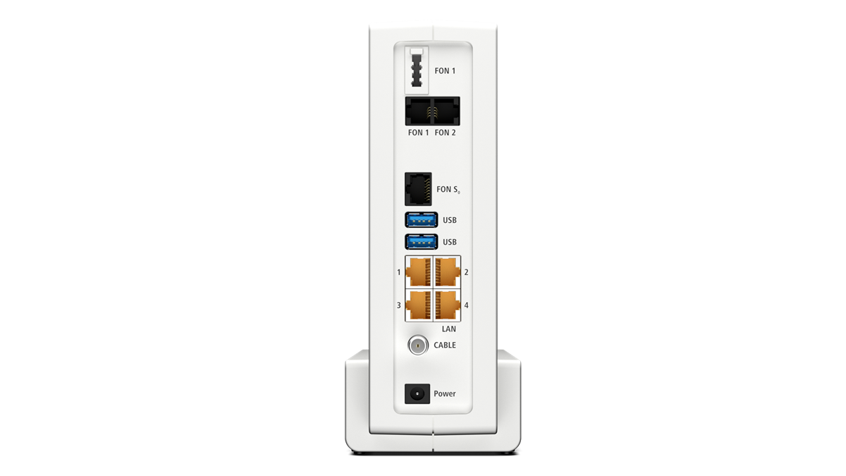 AVM FRITZBox 20 Cable beherrscht Docsis 20.20 Kabenetz bis zu ...