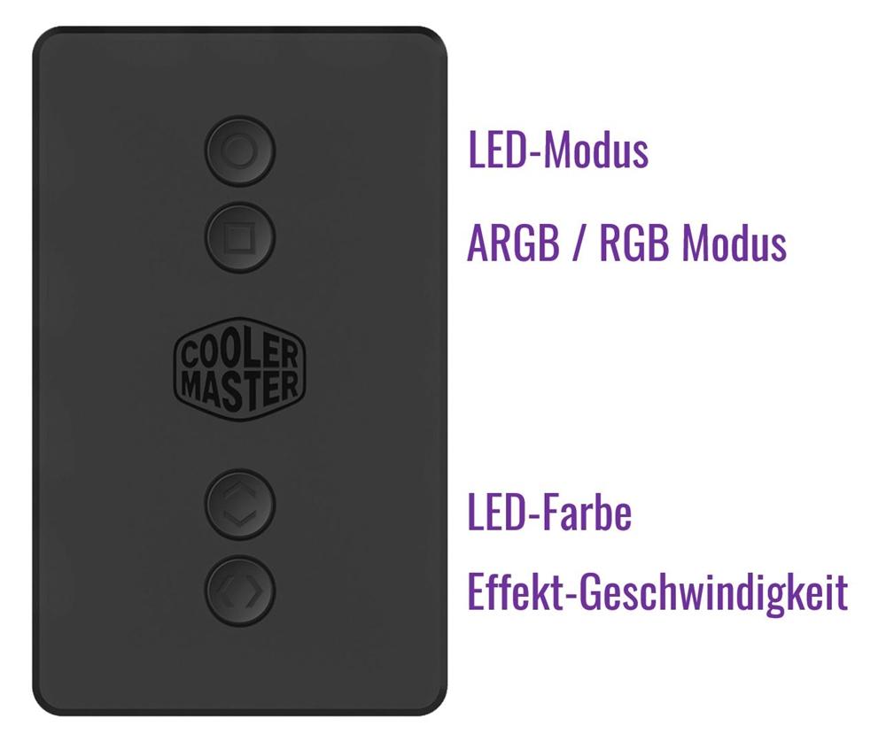 Cooler Master MasterLiquid ML120R und ML240R ARGB AiOs vorgestellt