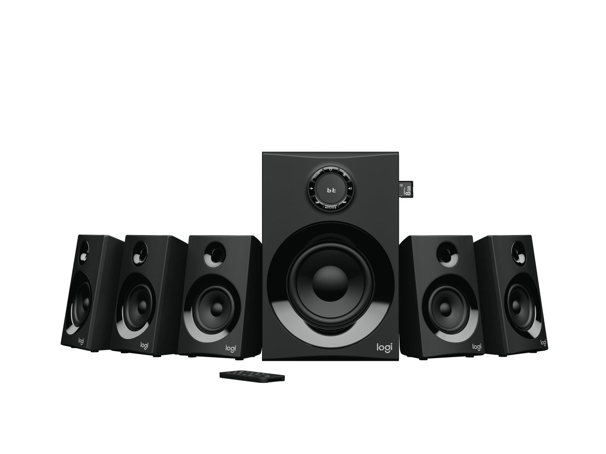 Logitech Z607 Surround Sound System 2