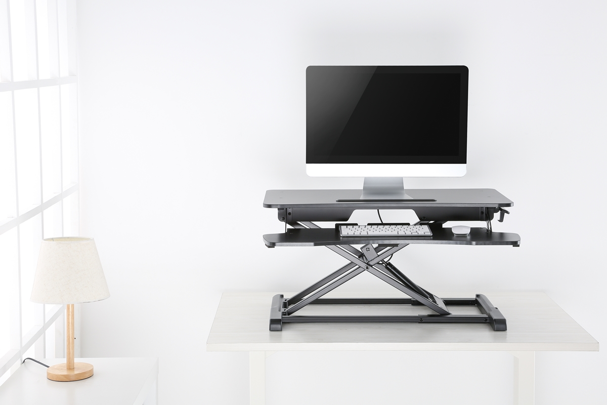 Reflecta ERGO Sit Stand Workstation DS950 Black 2
