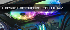 Corsair Commander Pro HD140 RGB Luefter Newsbild