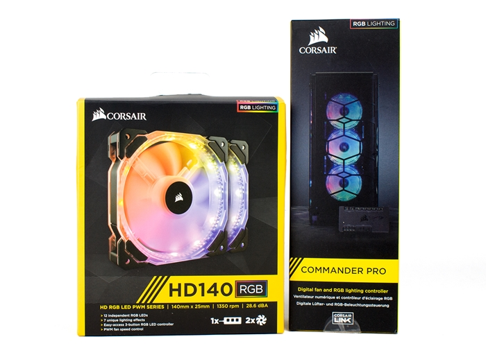 Corsair Commander Pro HD140 LED RGB 1