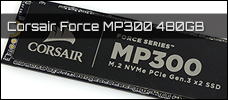 Corsair Force MP300 480 GB Newsbild
