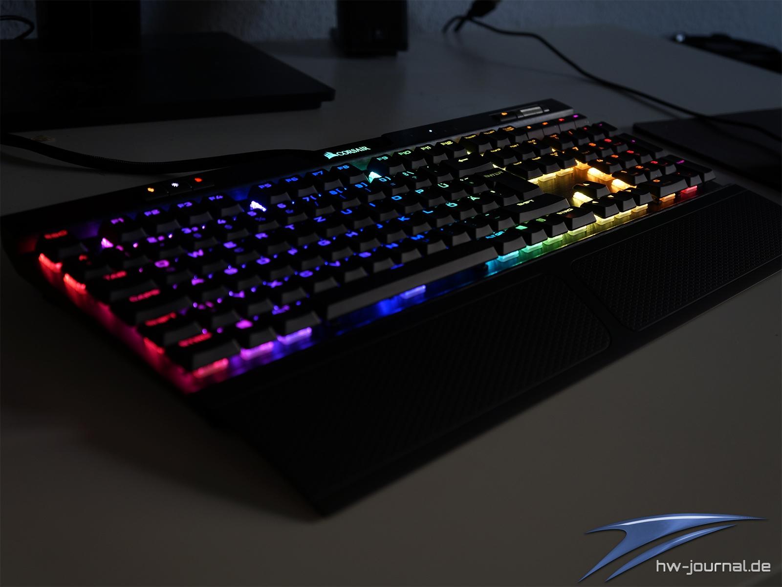 Test: Corsair K70 RGB MK 2 Low Profile Rapidfire - Hardware