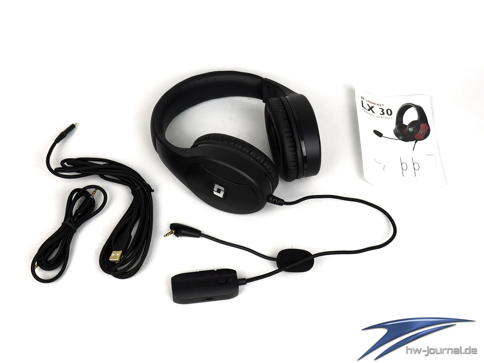 test lioncast lx30 gaming headset hardware journal. Black Bedroom Furniture Sets. Home Design Ideas