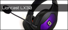 Lioncast LX30 Gaming Headset Newsbild