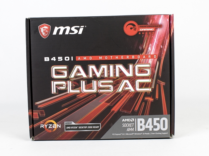 MSI B450I Gaming Plus AC 4k