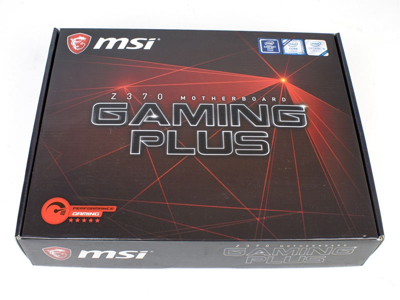 MSI Z370 Gaming Plus 1