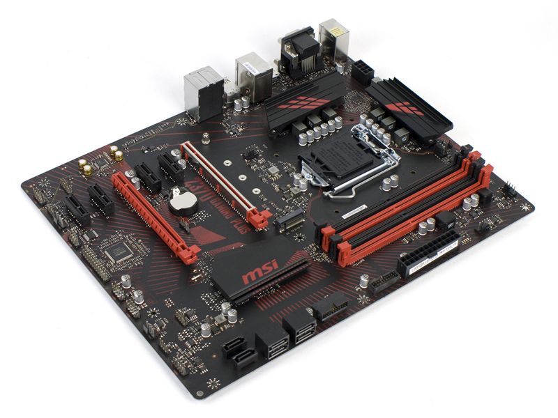 MSI Z370 Gaming Plus Opener