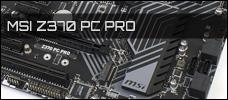 Test: MSI Z370 PC PRO