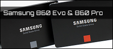 Test: Samsung 860 Evo 500GB & 860 Pro 512GB