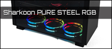 Sharkoon PURE STEEL news