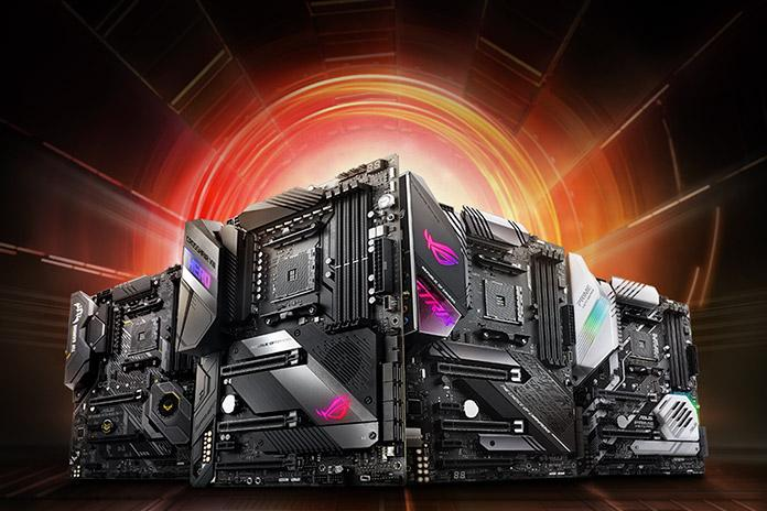asus x570 mainboards