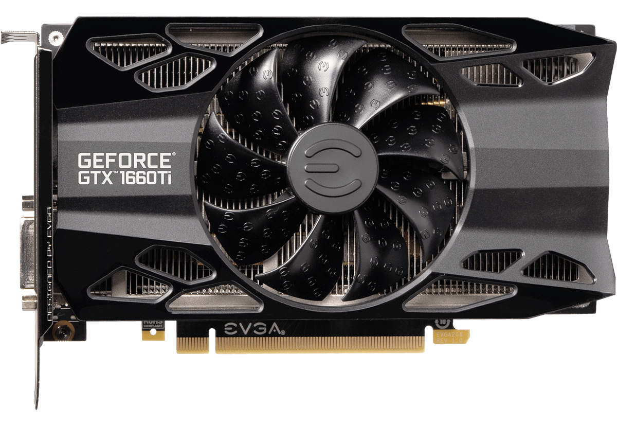 EVGA geforce gtx 1660 ti xc black xc gaming
