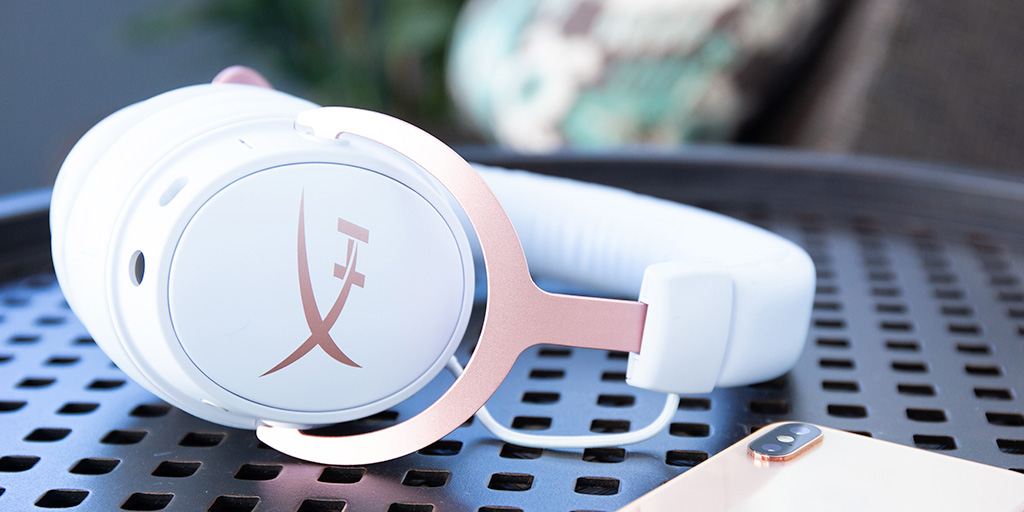 HyperX Cloud MIX Rosegold