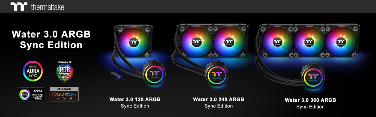 Thermaltake Water 3 0 ARGB Sync Edition 1