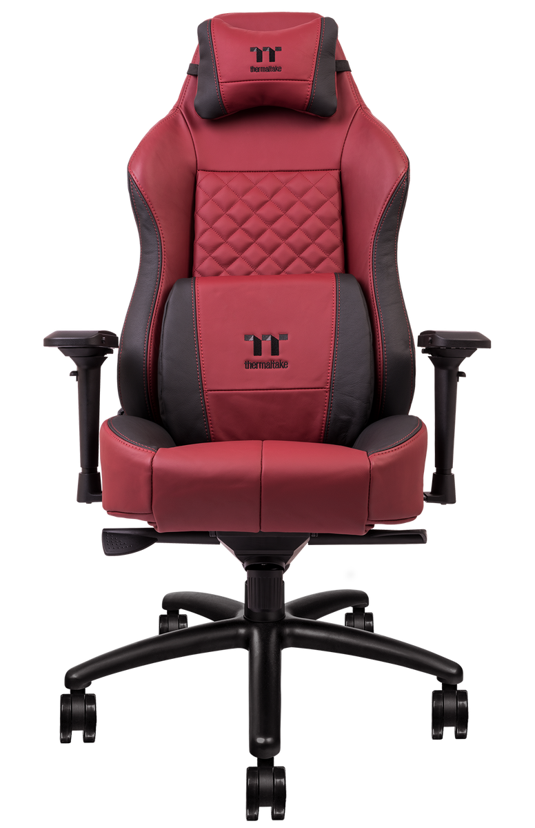 Thermaltake Gaming X COMFORT Real Leather Edition Burgundy Red 1
